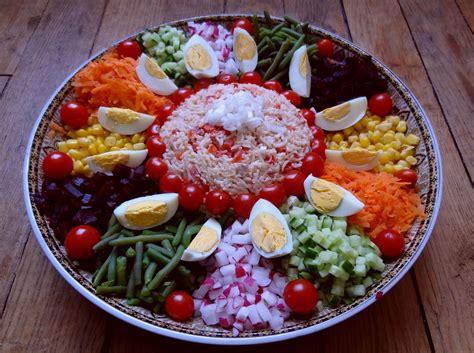 salade marocaine maroc la tendresse en cuisine