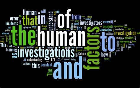 human factors  investigations human factors