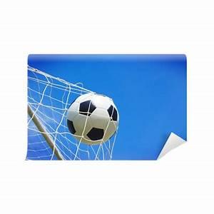 Soccer football field stadium grass line ball background ...