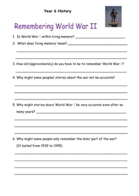 World War 2  Teaching Ideas
