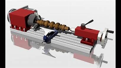 Lathe Machine 3d Tool Community Manufacturing