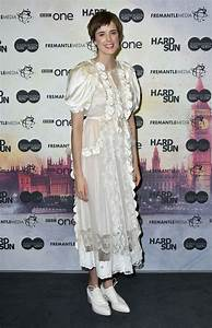 AGYNESS DEYN at Hard Sun Series Premiere in London 11/27 ...