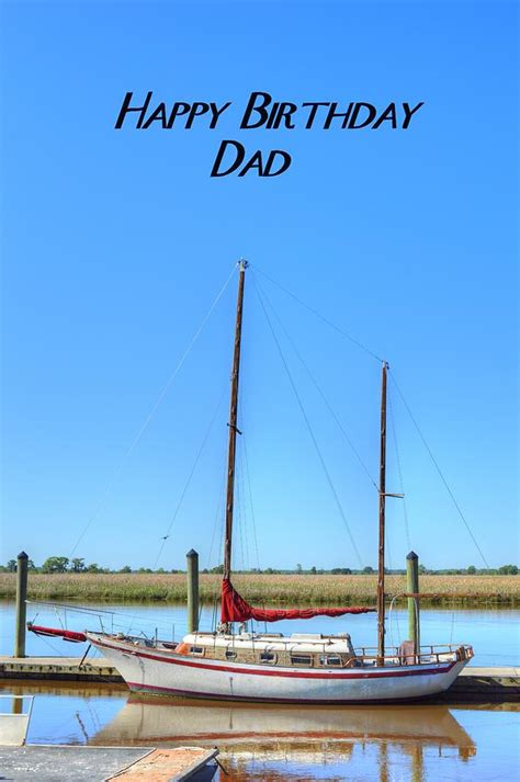 Happy Boat by Happy Birthday Sailboat Photograph By Covino