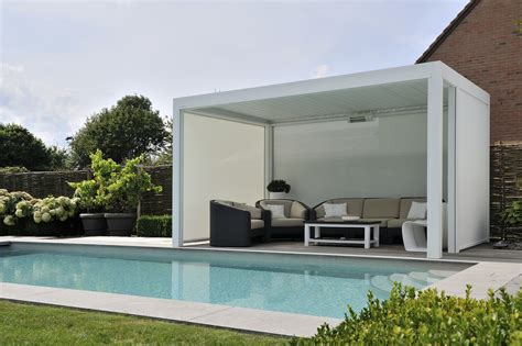 Moderne Poolhäuser by La Pergola Bioclimatique B200 Valence Chabanel
