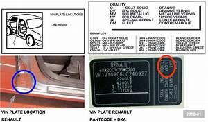 Code Moteur Carte Grise : achat voiture code peinture renault megane ~ Maxctalentgroup.com Avis de Voitures