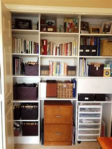 25 best ideas about home office closet on pinterest for Home office closet organization ideas