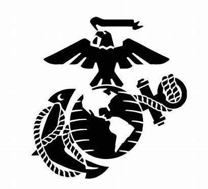 Marine Anchor Corps Stencil Eagle Usmc Globe