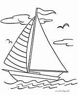 Boat Coloring Pages Fishing Sailing Drawing Boats Sailboat Ship Kidsplaycolor Kid Printable Sheets Play Sea Getdrawings Christmas sketch template