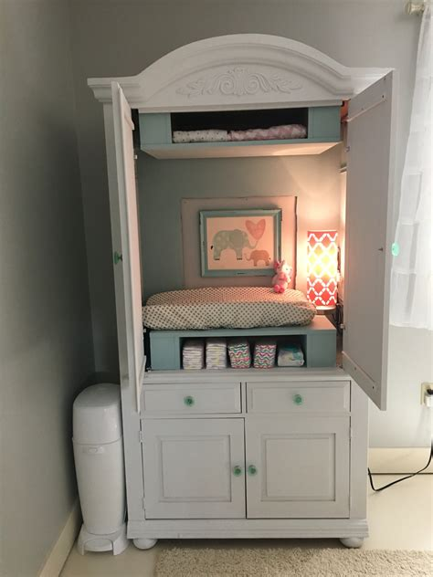 table ls for baby nursery armoire converted to changing table baby 3 nursery