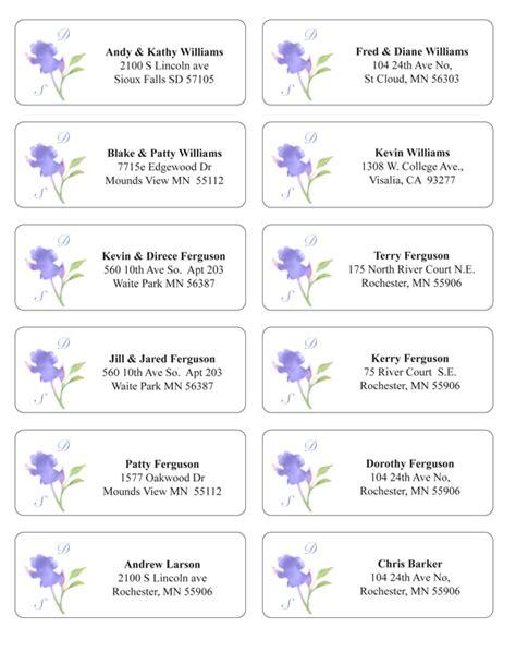 wedding address labels template make envelope addressing easier and stylish