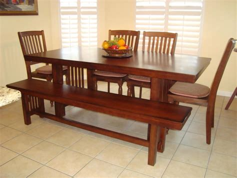 Dining Room Table With A Bench Modern Square Dining Room