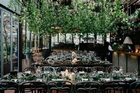Chic Indoor Garden Wedding at The Grounds Of Alexandria