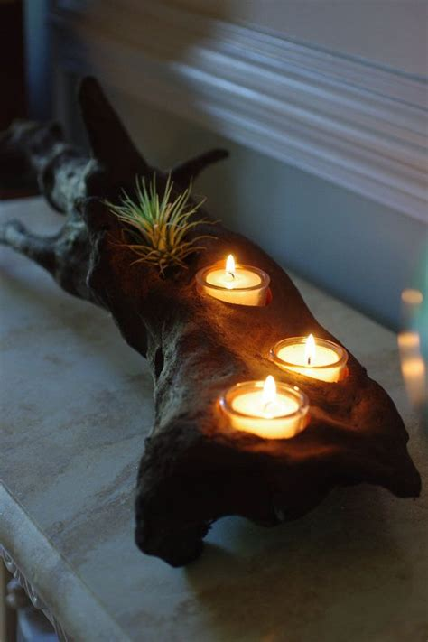 driftwood candle holder driftwood candle holders picmia