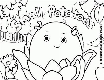 Coloring Disney Junior Chavez Cesar Potatoes Popular