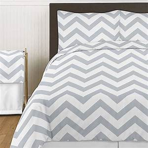 Sweet, Jojo, Designs, Chevron, Bedding, Collection, In, Grey, And, White