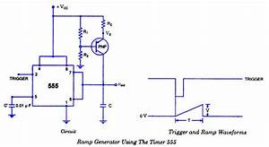 Ramp Generator With 555 Timer Ic