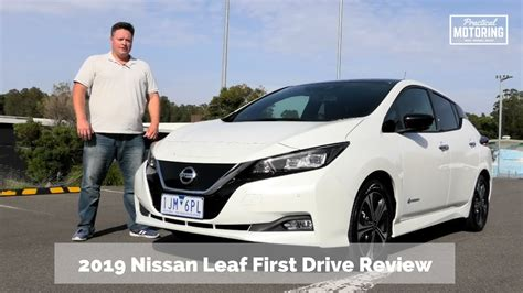nissan leaf  drive review youtube