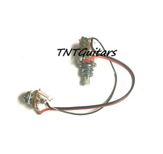 One Pickup Wiring Harness Standard Push Pull Pot
