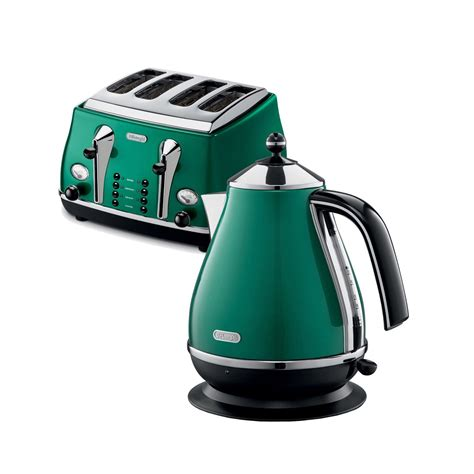 Green Kettle And Toaster Set - delonghi green kettle and toaster set