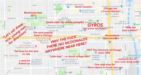 judgmental map  chicagos  west side
