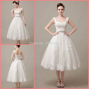 custom 2015 elegant lace mid calf lace short wedding dress With elegant short wedding dresses