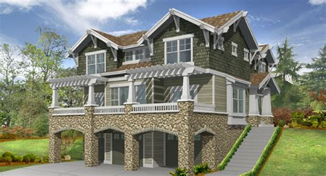 narrow lot house plans with rear garage touchstone 3214 3 bedrooms and 2 baths the house designers