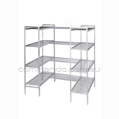 cool room storage cool room shelving shelving commando storage systems