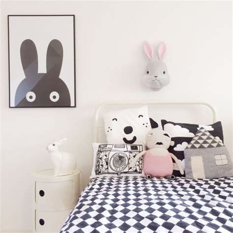 chambre en noir et blanc 8 chambres bébé et enfant en noir et blanc