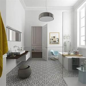 salle de bain et carreaux de ciment With beautiful couleur peinture salon tendance 7 un salon vintage le blog deco de maisons du monde