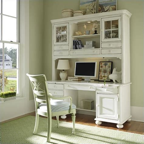 stanley furniture desk and hutch stanley coastal living wood computer desk hutch in antique
