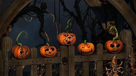 halloween hd wallpaper background image  id