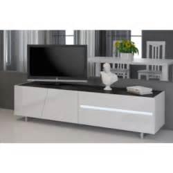 meuble tv laqu 233 blanc 160 cm cooper mooviin