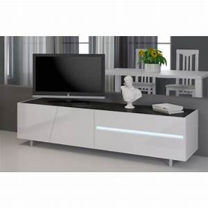 Tv Bank 160 Cm : meuble tv laqu blanc 160 cm cooper mooviin ~ Bigdaddyawards.com Haus und Dekorationen
