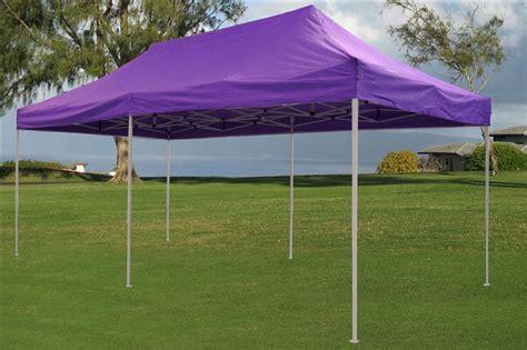 enclosed pop  canopy party folding tent gazebo purple  model
