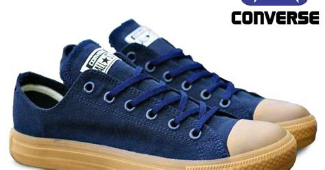 sepatu converseall navy gum color cl 008 omsepatu