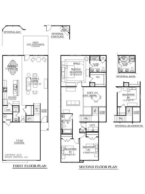 New Home Floor Plans 2018  Review Home Decor