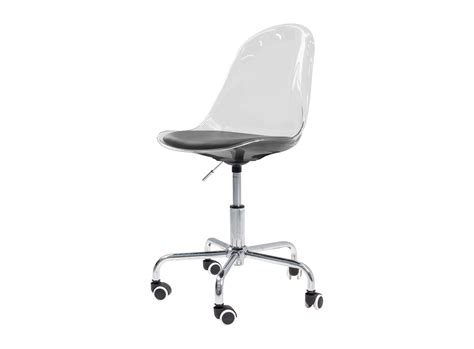 meuble de bureau fly chaise de bureau coque transparente chaise table