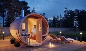 Sauna Einbau Kosten : outdoor sauna im garten tipps rund ums saunahaus ~ Markanthonyermac.com Haus und Dekorationen