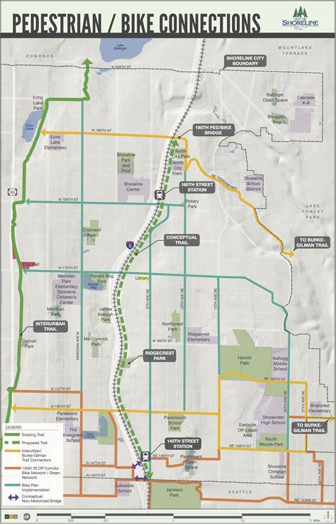 Seattle, wa bike trails and maps. Shoreline announces bold idea for a new trail next to light rail   Seattle Bike Blog