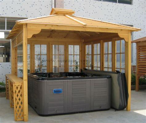 Temporary Gazebo Top Selling Wooden Garden Tub Outdoor