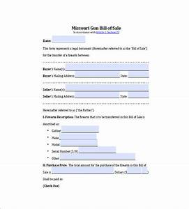 gun bill of sale 10 free sample example format With bill of sale trade template