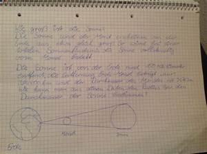 Entfernung Erde Sonne Berechnen : durchmesser der sonne berechnen mit strahlensatz mathelounge ~ Themetempest.com Abrechnung