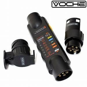 Voche U0026 39  12v 7 Pin Trailer Light Wiring Circuit Tester Plug