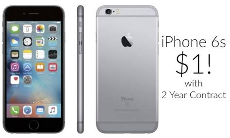 iphone 6s deal iphone 6s just 1 with 2 year contract arrives by