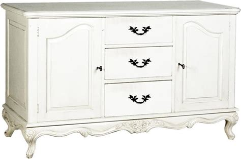 White Sideboard Cabinet by Provencal Classic Sideboard Cabinet Antique White