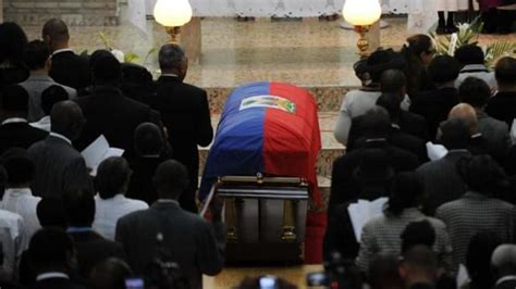 Divided Haiti Bids Farewell To Duvalier News Al Jazeera