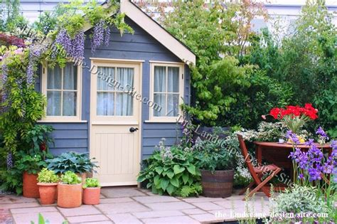 cottage landscape ideas pin by nita hiltner on garden sheds pinterest