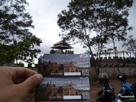 lost world castle wisata   lereng merapi update