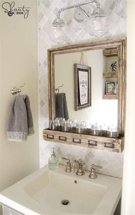 diy bathroom vanity diy bathroom vanity shanty 2 chic