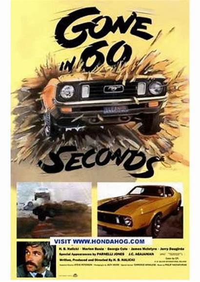 Cars Seconds Gone 60 1974 Poster Crash